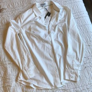 BRAND NEW fitted white blouse